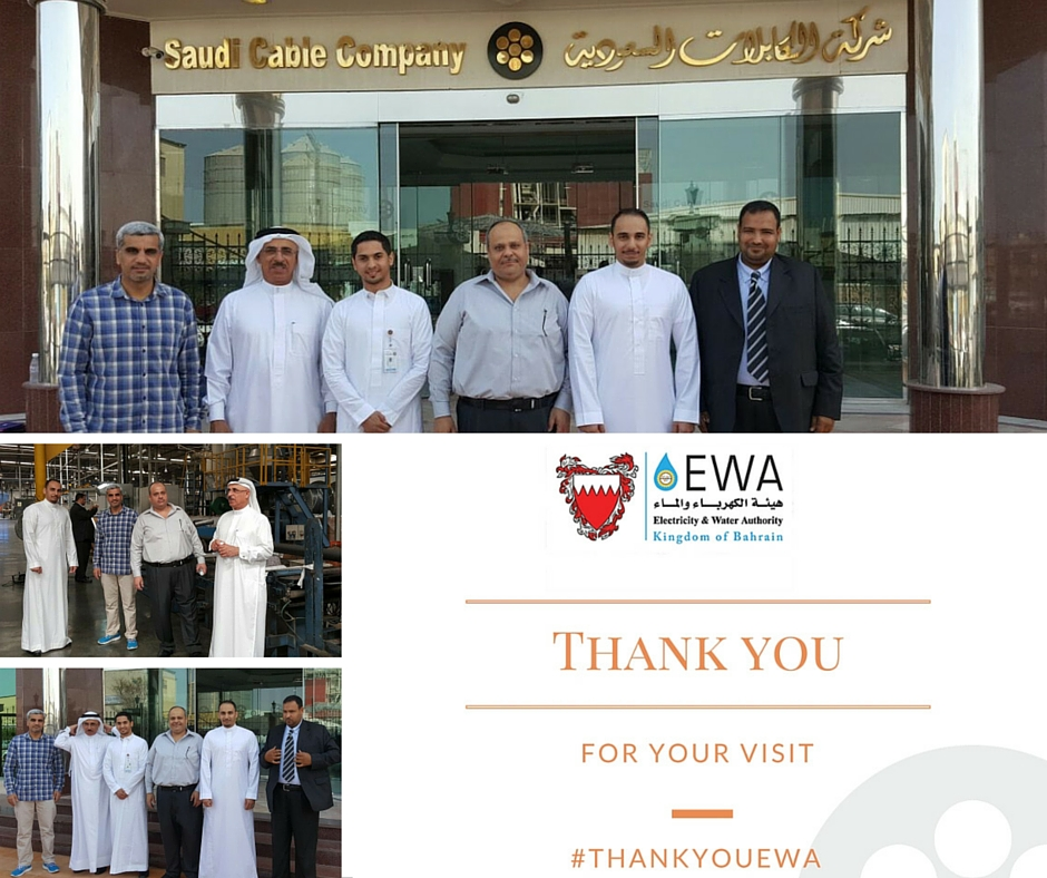 We have hosted our EWA partners to our factory