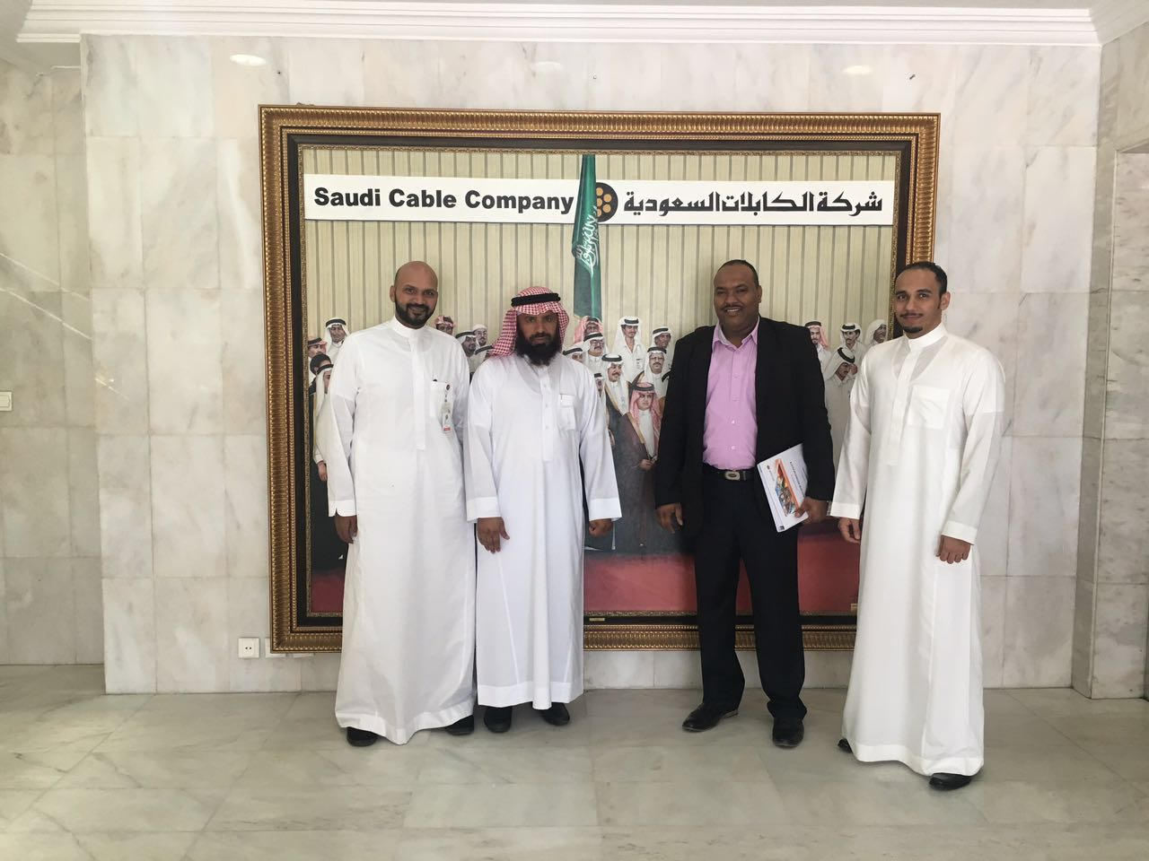 Scc records the visit of riyadh Municipality to its factory