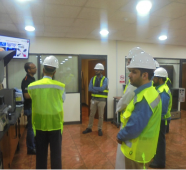 Welcoming SEC to our factory