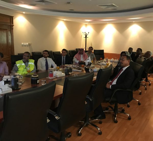 VIP visit from Sudanese State Minister