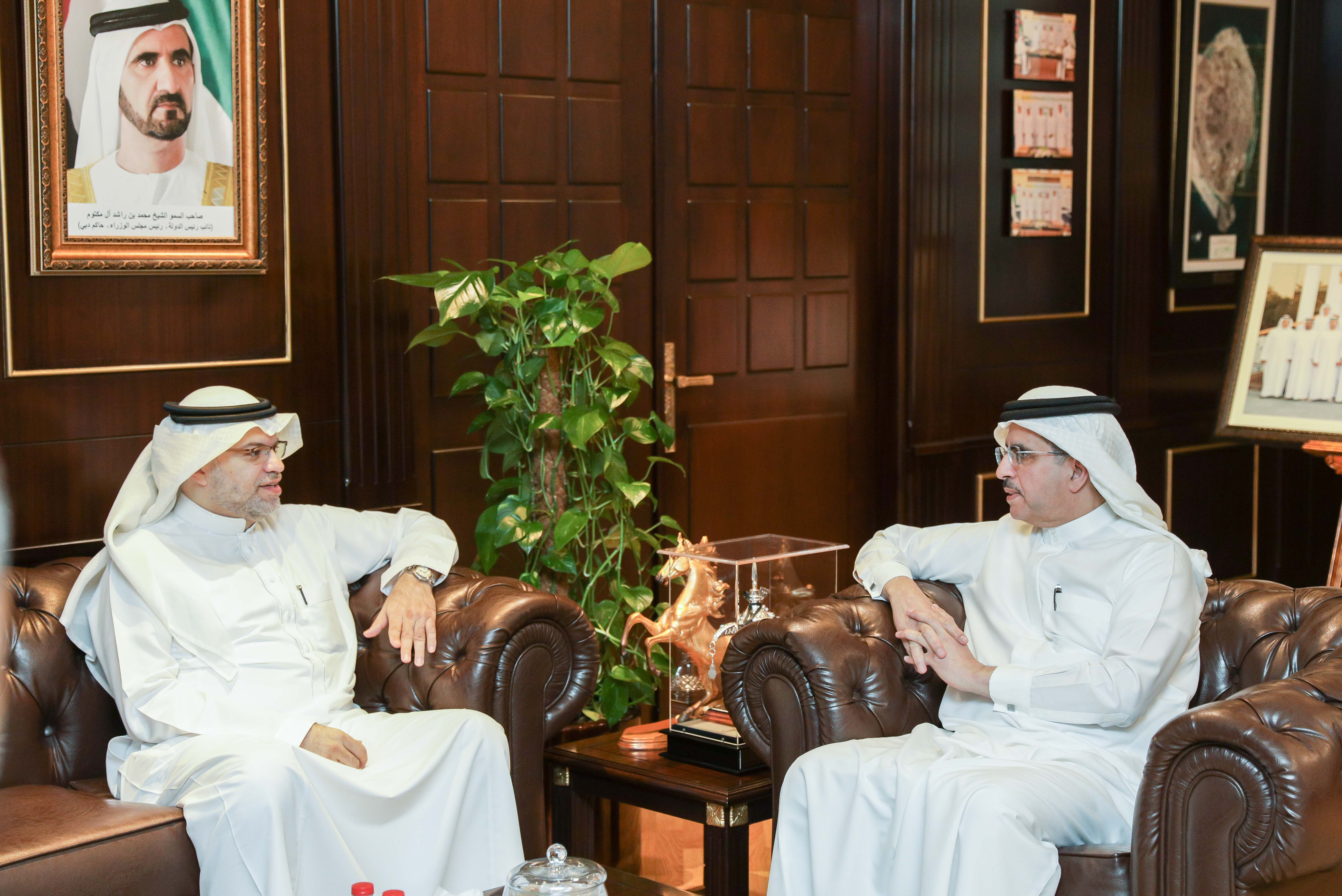 Strengthening strategic partnership with DEWA