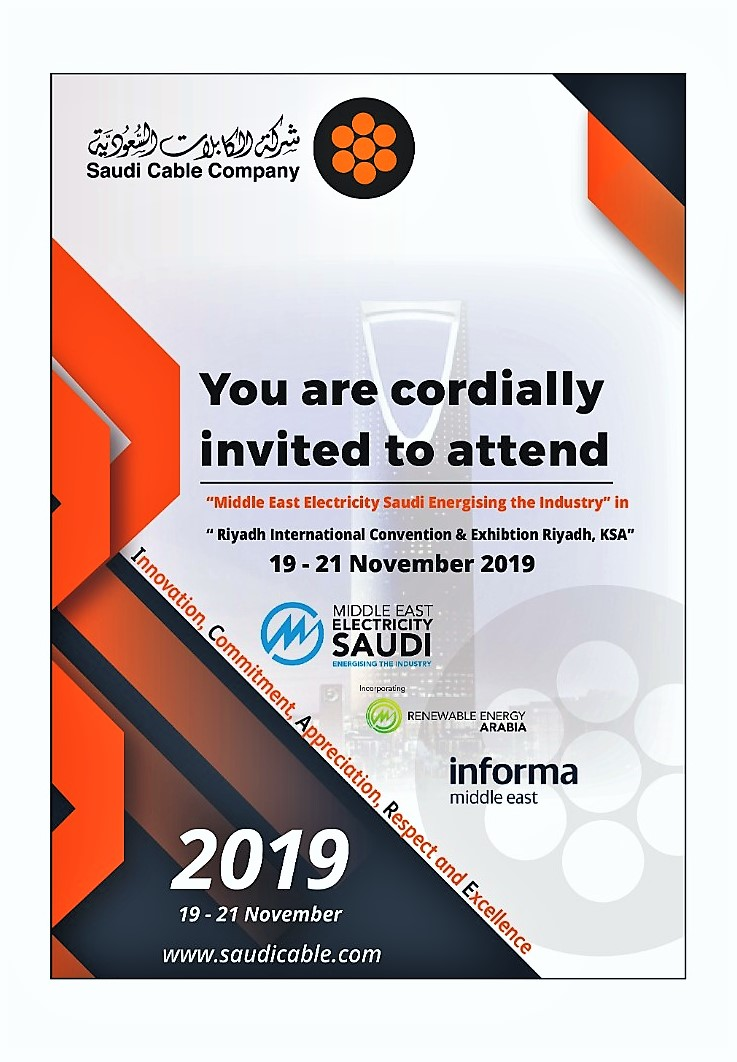 Middle East Electricity SAUDI Exhibition 2019